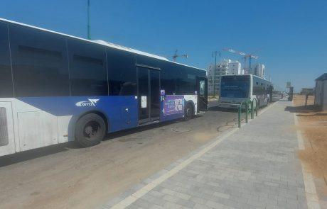 במקום חניה לגנים: מסוף אוטובוסים