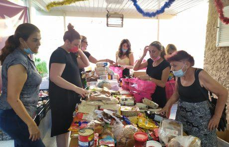 יוזמה מבורכת: בית פתוח לקבלת סלי מזון 📸