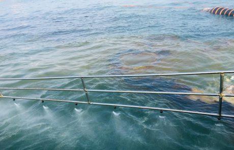 דליפת נפט לחוף אשקלון 📸