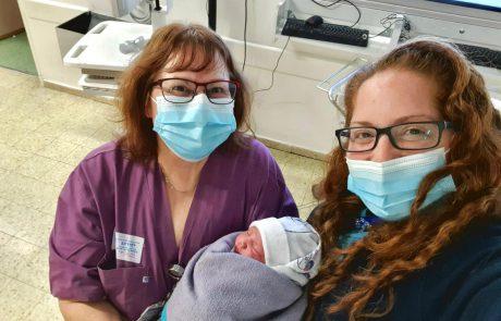 התינוקת הראשונה לשנת 2021 במרכז הרפואי ברזילי